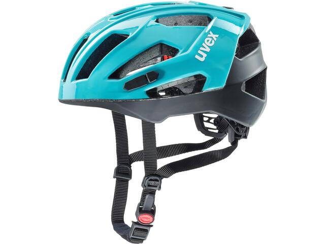 UVEX Quatro XC Helmet blue/black